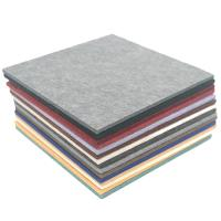 Buy cheap Eco - Friendly Polyester Fiber Acoustic Panel Customized Colors Sound Proof 9mm from wholesalers