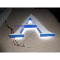 Buy cheap custom made portable illuminated 3d marquee wedding signs led light love letters from wholesalers