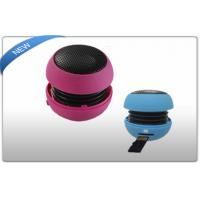 Buy cheap Pink / Blue Portable USB Mini Speakers For Laptop Compact With 3.5mm Jack product