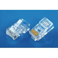 Buy cheap RJ45 Modular Plug 8P8C ROUND Cable Entry from wholesalers
