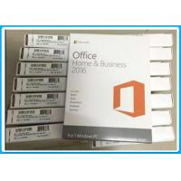Buy cheap Microsoft Office Home and Business 2016 English For Windows PC , 32/64 BIT from wholesalers