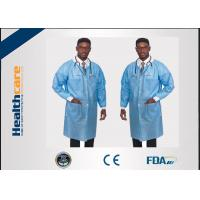 China Comfortable Disposable Dental Lab Jackets Non Toxic For Hospital Eco Friendly on sale