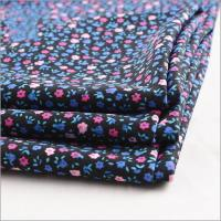 Buy cheap Rusha Textile Soft Knit Polyester Lycra DTY Stretch Jersey Small Flower Printed Wholesale Bulk Fabric from wholesalers