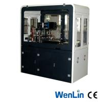 Buy cheap 3 Punches A3 Sized PVC Card Punching Machine Semi Automatic Servo Motor from wholesalers