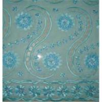 Buy cheap Organza  lace fabric from wholesalers