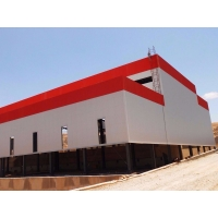 Buy cheap Buildings Quick Warehouse Galvanised Prefabricated Steel Structures from wholesalers