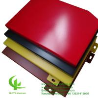 Buy cheap 3mm  Aluminium Panel Sheet 1.5 - 10mm Thickness Fence / Facade Decoration from wholesalers