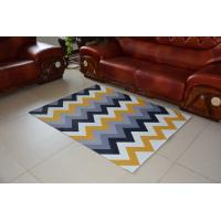 Buy cheap Polyester Printing mat printed carpet 650g/m2 rolled in polybag non-woven backing rug anti-slip cheap carpet 120x170 from wholesalers