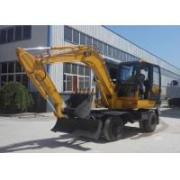 Buy cheap Strong Power Narrow Bucket Long Reach Excavator Machine / Mining Excavators from wholesalers