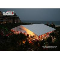 Buy cheap Summer Outdoor Wedding Canopy Marquee Aluminum Structure , Easy Up Install Big Event from wholesalers