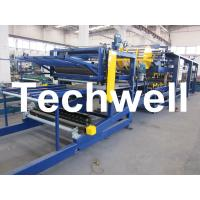 Buy cheap Galvanizes Color Steel Coil Rubber Belt Continuous PU Sandwich Panel Machine for Insulated Roof Wall Sandwich Panels from wholesalers