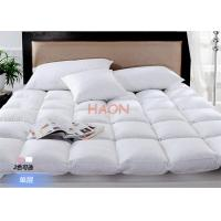 Buy cheap Luxury Hotel Mattress Protector Filling With Duck Down / Goose Down , Hotel Mattress Pad from wholesalers