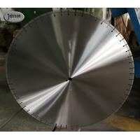 Buy cheap Fast cutting 900mm floor saw blade for hard reinforced concrete from wholesalers