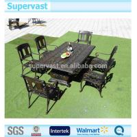 Buy cheap Garden Aluminum Patio Furniture Sets , Cast Aluminum Table And Chairs Dinning Set from wholesalers