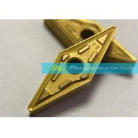 Buy cheap Wear Resistance Custom Carbide Inserts VNMG160408 GM CVD Coating product