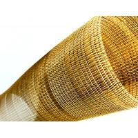 Buy cheap Decorative Woven Wire Mesh For Tempered Laminated Glass 0.28 Diameter 42 Mesh from wholesalers