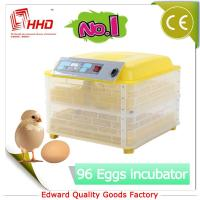 Buy cheap EW-96 Newest CE certificate automatic plastic chicken egg incubator egg tray from wholesalers