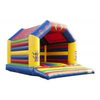Buy cheap Circus Indoor Inflatable Bounce House Jumper High Durability Plato PVC Material product