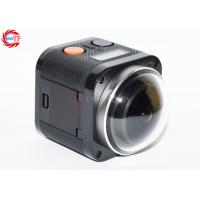 Buy cheap E360h Cube Action Camera With 2.4 G Remore Controller , 360 VR Sport Camera 4k from wholesalers