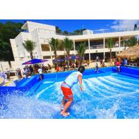 Buy cheap Durable Surfing Flow Rider Extreme Sport Fun Ride 21.7m*13.4m For Water Park product