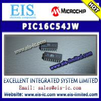 Buy cheap PIC16C54JW - MICROCHIP IC - EPROM/ROM-Based 8-Bit CMOS Microcontroller Series product