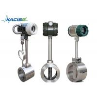 Buy cheap High Temperature Vortex Flow Meter DN15 - DN1800mm For Steam / Saturated Steam from wholesalers