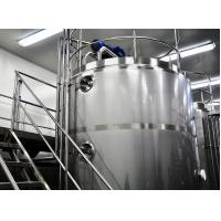 Buy cheap 500L - 30T SUS304 316L Stainless Steel Stirrer Storage Tank For Juice / Beer product