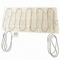 Buy cheap Under Floor Heating Mat with Teflon Main Insulation, PVC Outer Jacket and CE Mark from wholesalers