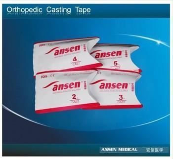 Buy cheap Best fiberglass casting tape 4yd Fiberglass Orthopedic Casting Tape for Broken Bones from wholesalers