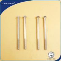 Buy cheap Professional Brass Hex Head Bolts , Din 931 8.8 Bolts Carbon Steel Material from wholesalers