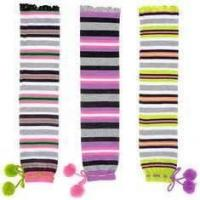 Buy cheap Customed comfortable soft colorful knee high cotton kids warm socks with knitted pattern from wholesalers