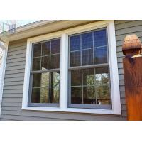 Buy cheap Europe Style Double Hung Aluminium Windows Double Glazed With Grilles from wholesalers
