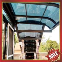 Buy cheap anti-uv polycarbonate aluminium alloy awning canopy for porch gazebo patio corridor-excellent wanterproofing sunshade from wholesalers