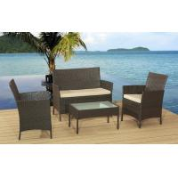 Buy cheap Hot selling 4Pcs KD Rattan Sofa Cushioned With Promotion Price For Full Container from Wholesalers