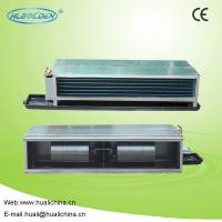 Buy cheap Concealed Type / Suspended Ceiling Horizontal Fan Coil Unit With Water Chiller from wholesalers