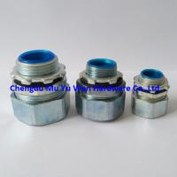 Buy cheap 1/2 180d liquid tight metric thread zinc die casting connector for flexible steel conduit from wholesalers