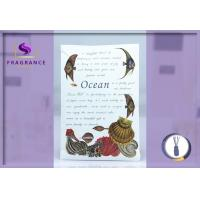 Buy cheap Personalized Greenleaf / 27g Ocean Drawer Scented Sachets 11.5*17cm from wholesalers