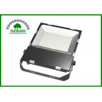Buy cheap 18000LM 150W Slim LED Flood Light Black Shell Type With ELG Meanwell Driver from wholesalers