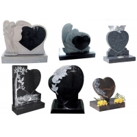Buy cheap Handcarved  150cm High Memorial Granite Tombstone product
