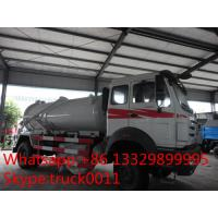 Buy cheap 270hp 4*2 North Benz Vacuum Suction sewage tank 8000 liter for sale, best price North Benz LHD 4*2 septic tank truck from wholesalers