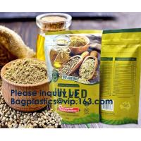 Buy cheap Zipper Stand Up Plastic Biodegradable Food Packaging Pouch Bag With Window,Food Grade Biodegradable Kraft Stand Up Pouch from wholesalers