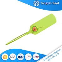 Buy cheap TX-PS107 Bargain price adhesives sealants logo markable red/yellow/green 300mm security plastic seal from wholesalers