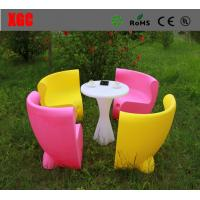 Buy cheap Adjustable Brightness LED Table And Chairs For Home Decoration / Nightclub from wholesalers