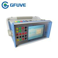 Buy cheap Portable Three Phase Secondary Current Injection Test System With 8 Binary Input / Output from wholesalers