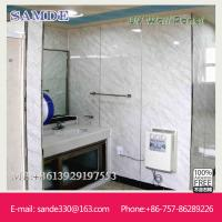 Buy cheap artificial stone walls with UV coating technology 2440*1220*6/8/9mm from wholesalers