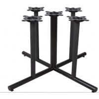 Buy cheap Cast Iron Restaurant Table Bases Multi Columns Sturdy Cheap Furniture Component from wholesalers