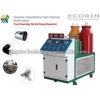 Buy cheap Hydraulic Polyurethane Foam Filling Machine Small - Output Auto Cleaning product