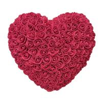 Buy cheap Wholesale Huge Heart Rose Heart Artificial Heart Rose Wholesale  Bear Pearl Bear For Heart Rose  Valentines Day from wholesalers