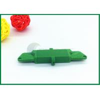 Buy cheap APC Fibre Optic Cable Connectors Green With Low Insertion Loss E2000 Fiber Connector from wholesalers