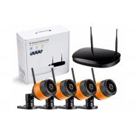 Buy cheap H.264 4 Channel WiFi IP Camera Kit Complete Set Wireless NVR Security System from wholesalers